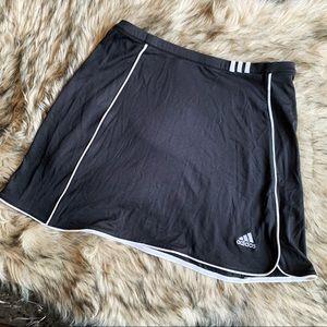 Adidas Black White Skirt Small
